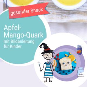 Rezept Apfel-Mango-Quark