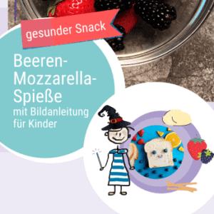 Rezept Beeren-Mozzarella-Spieße