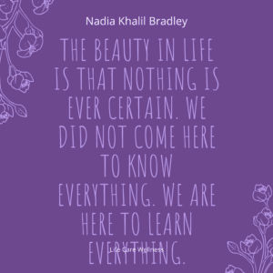 beauty in life quote