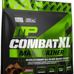 musclepharm combat xl mass gainer 12 lbs