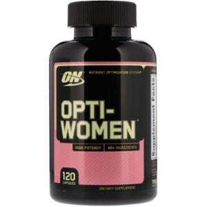 on opti-women 120 caps