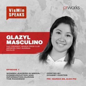 Women journalist leader Glazyl Masculino