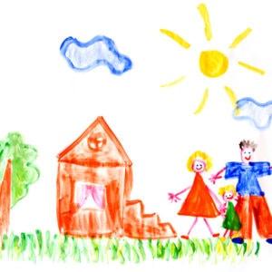 Детский психологический тест нарисуй дом