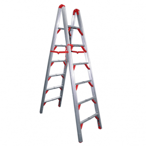 7 ft Double sided folding step ladder