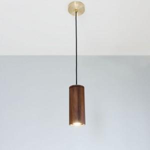 walnut pendant lighting