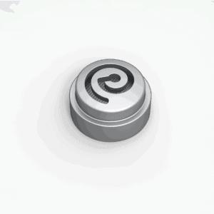 Earproof filter silver verkrijgbaar bij Banaan in je oor.com