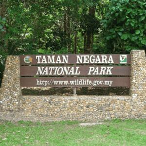 taman negara entrance