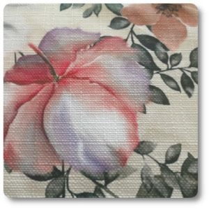 tkanina w kwiaty
