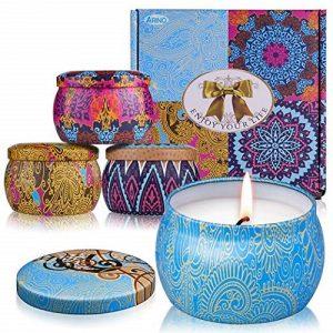 aromatherapy candles gift set