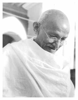 Gandhi - picture believed to be in the public domain