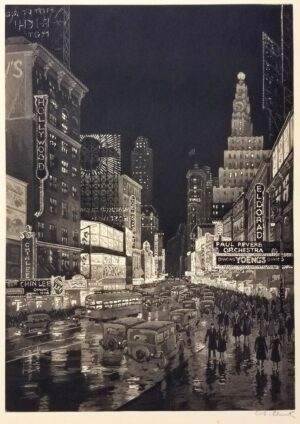 Anton Schutz, The Great White Way, 1931