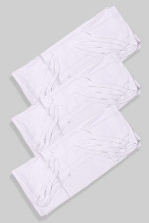 סדיניות למיטת תינוק במארז שלישייה לבן