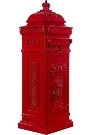 Postlåda röd bildexempel