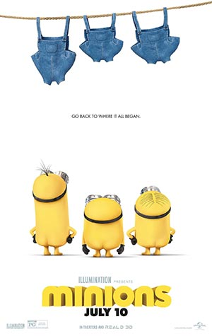 Minions (2015): official teaser poster