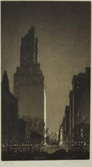 """Gerald Geerlings, """"Black Magic"""", 1929"""