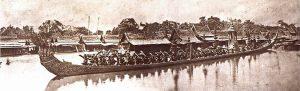Thai Royal Barge Processional History