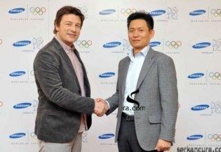 Samsung Jamie Oliver Ile Olimpiyat Oyunları İçin Marka Elçiliği Anlaşması Yaptı