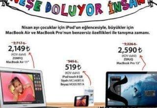 Amerika Fiyatına Mac'leri Kaçırma!