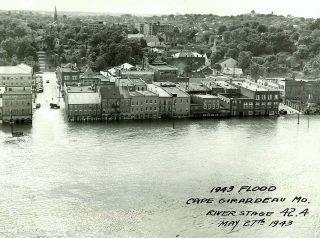 1943 flood cape girardeau MO