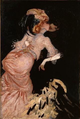 """Schilderij van Jan Sluijters 'Twee vrouwen die elkaar omhelzen, uit 1906, Van Gogh Museum"""""""