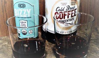 Tasting Cold Brew Concentrates-Bizzy Vs. Trader Joes Original
