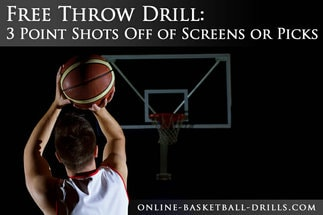 free throw drill 3 points