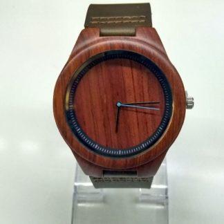 Zegarek drewniany mahoń Filcomp