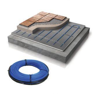 WIS Betonkabel systeem van Warmup: elektrische vloerverwarming beton & tegels