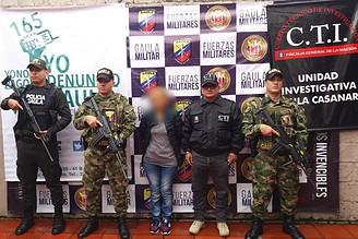 Photo of Capturada mujer de cobrar dineros consignados por extorsión, desde Casanare.