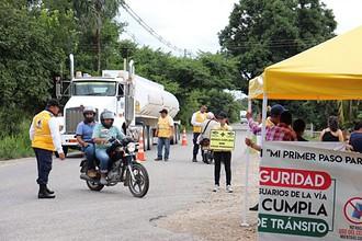 Photo of Campaña de seguridad vial se 'tomó' Tilodirán