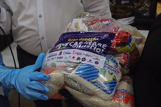 Photo of Inició entrega de ayudas humanitarias a familias vulnerables, aportadas en 'Gran Donatón Casanare Solidario'