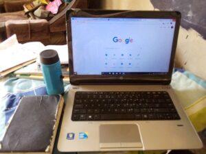 my new laptop