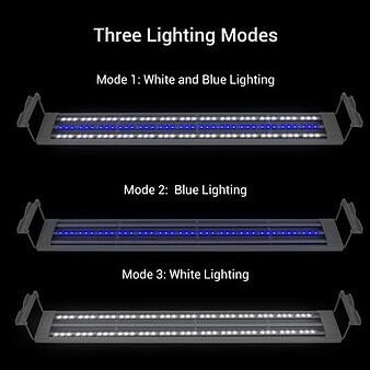 NICREW ADP LED Luz para Acuario marino