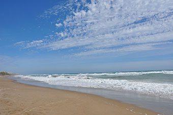 Barcelona coast beach and beaches near Barcelona