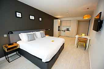 a good apartment hotel in York, UK