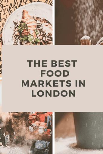 Best Food Markets in London