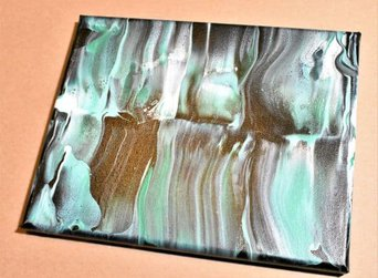 Day 16 Acrylic Pouring Color Theory Series