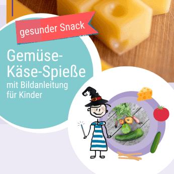 Rezept Gemüse-Käse-Spieße