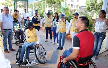 Photo of Agentes y promotores de Tránsito Municipal 'se pusieron en los zapatos de' las personas con discapacidad