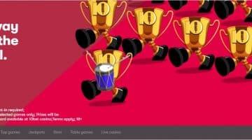 10Bet Games Tournament win a share of £6k