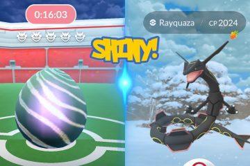 Pokemon Go Rayquaza Information: Shiny Rayquaza And How To Catch