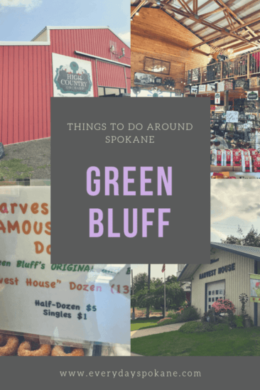 image of things to do at green bluff