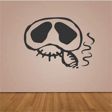 VINILO-DECORATIVO-CALAVERA-FUMANDO-70X50-calaveras-fumando