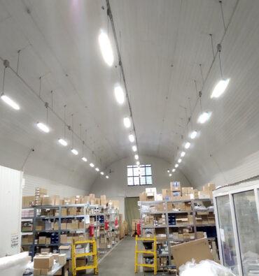 освещение для склада бытовой техники