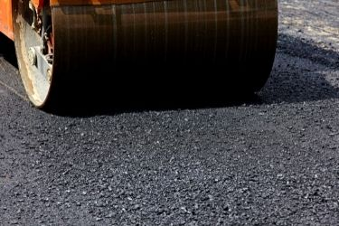 Rolling pavement surface
