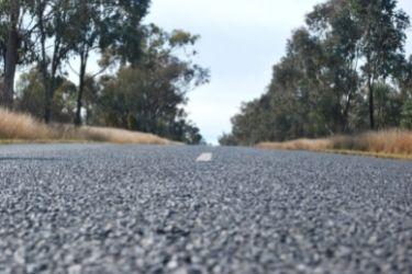 Asphalt paving results