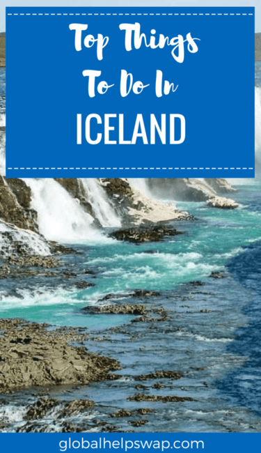 Top things to do in Iceland. From the blue lagoon to geysers Iceland has it all all. With wild landscapes, the northern lights, whale watching and much more this is a nature lovers paradise.