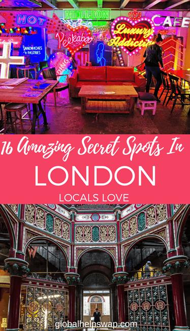 Secret Spots in London