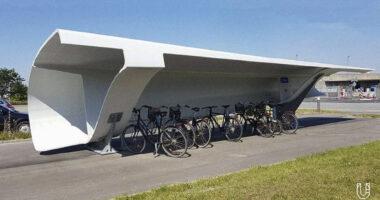 wind-turbine-blade-bike-shelters
