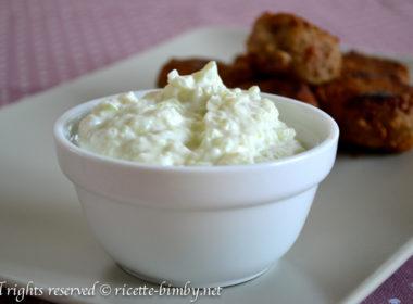 Tzatziki senza aglio Bimby